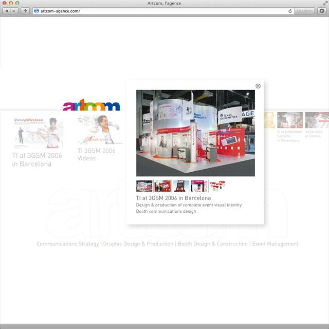 Agence communication événementielle Artcom