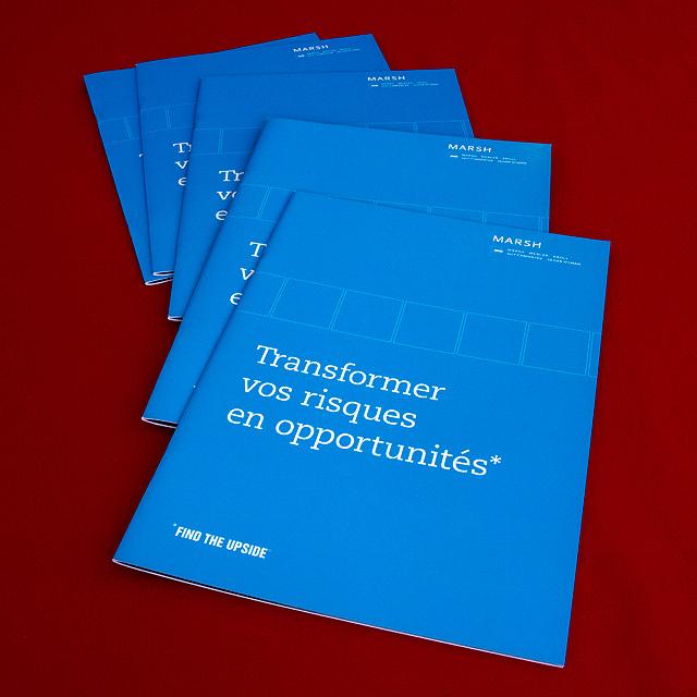 Brochure institutionnelle Marsh
