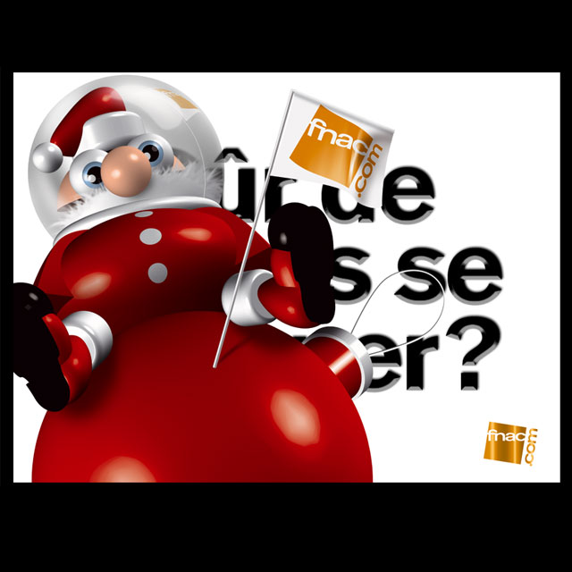Animation Noël FNAC