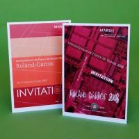 Invitations Roland Garros